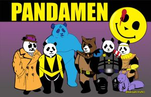 Pandamen Color by geijutsusakuhin