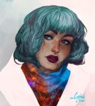 Space gal by CCCrystalClear