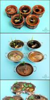 Misc 1:12 Koi Ponds and Containers by Bon-AppetEats