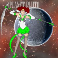Sailor Dwarf Planet Pluto by Infamous-Mr-Oob