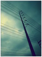 powerlines by geyl