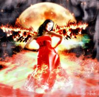 ANGEL OF FIRE by KerensaW