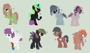 Batch of random pwns by Dulcet-Adopts