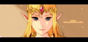 Zelda-Hyrule Warriors(anime version) by Arumy