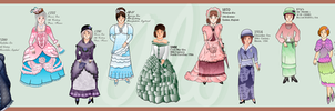 Historical Fashion Timeline Part 1 by Alexandra-chan