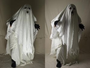 Bedsheet Ghost 3 by The-Lionface
