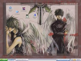 Gundam Wing Background by PhoenixPyre