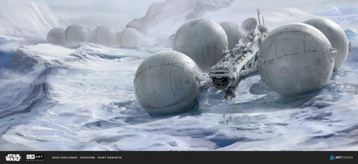 ILM Challenge - THE RIDE - The Snow Rover by Dedyone