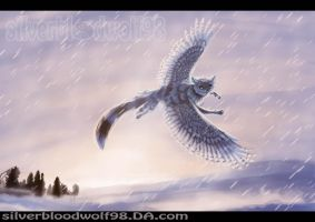 snowy fly + speedpaint link added by Silverbloodwolf98