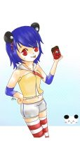 TM OC: Kagami for Panda-chan by VanillaAngel