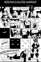 Deidara's Easter Surprise by SractheNinja