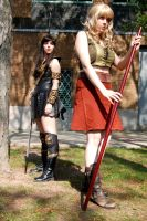 Xena and Gabrielle by BrassIvyDesign
