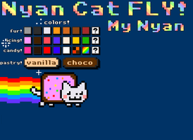 My nyan cat by AwesomeSachiko1