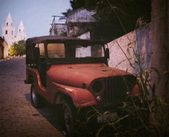 old jeep by srjames