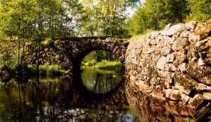 Rural bridge II by Enigmaticus
