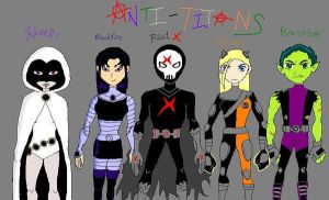 Anti- Titans by deviant-comic-artist