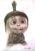 Despicable Me - Agnes by Mark-Duffy