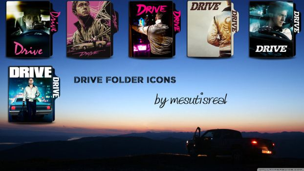 Drive (2011) Movie Folder Icons by mesutisreal