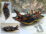 Nudibranch Sculpture by weasels