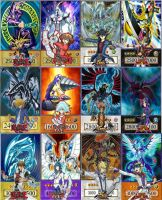 Yugioh Through The Years by Dragonzdw12