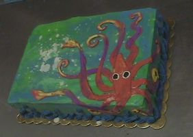 Squid Cake by Starjuice