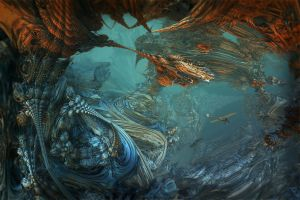 Underwater kind of remembrance by MANDELWERK