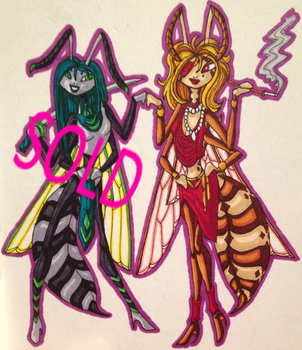 Waspy Villainy Ladies Adopts :OPEN: 1/2 by Djora