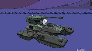 Derpy's Scorpion Tank by SJG454