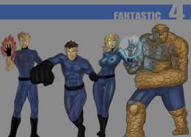 fantastic 4 by Gubrutsky2011