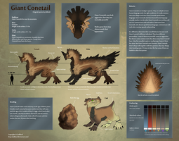 Original Species - Giant Conetail by Julkkuli