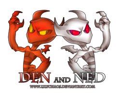 DEN AND NED by LilyChaoS