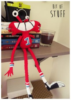 Wilt Plush Doll by bit-of-stuff