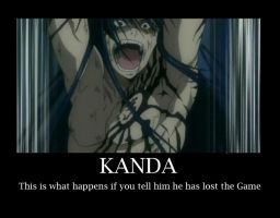 Kanda lost the Game by TheDemonGhostie