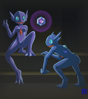 Living Suit of Sableye 2 by sinrin8210