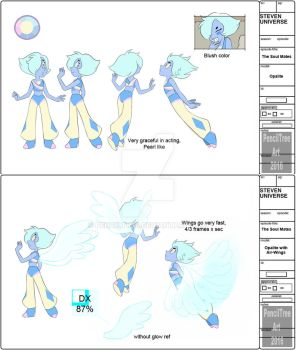 - Opalite Official Model Sheet - by PencilTree