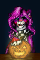 Happy Halloween 2014 by TigaLioness