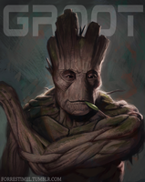 I am Groot by ForrestImel