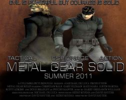 Metal Gear solid film poster 2 by videogamemoviemaster