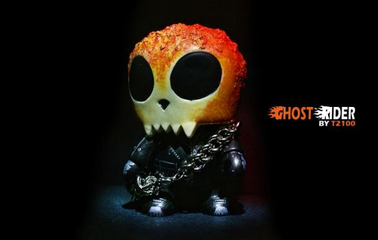 Ghost Rider MiniQee by t2100ex9