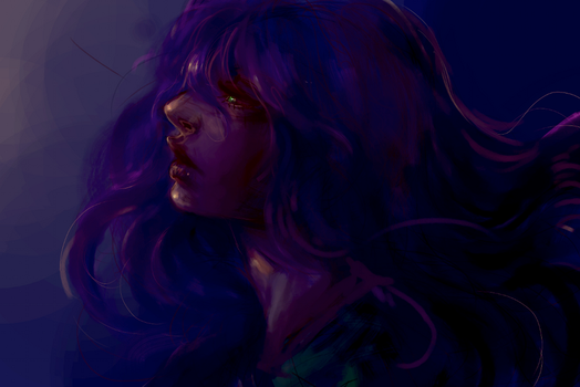 20 Minute Speed Paint: Color Practice by MyEmeraldTears