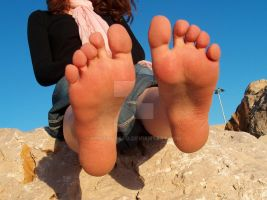 Sole Tease 2 by Footografo