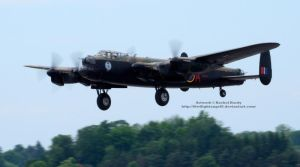 Avro Lancaster Take-Off by 8TwilightAngel8