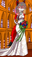 Cecilia's wedding dress by kitfox-crimson