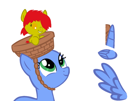 Hooray for Foalsitter! Collab by Sparklecat16