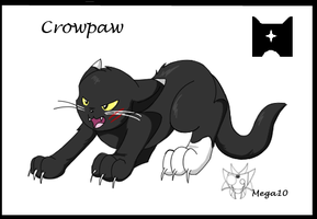 Crowpaw by SmilehKitteh