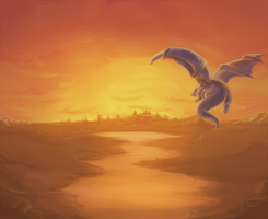 dragon by Galvin-wolf