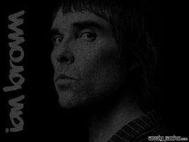 Ian Brown ASCII Art by AndyJacko