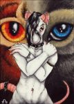 ACEO - A difficult choice by BloodhoundOmega