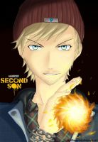 Pewdiepie Infamous: second son - FanArt by DoodlingMelody
