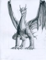 My Smaug design by CloudsGirl7
